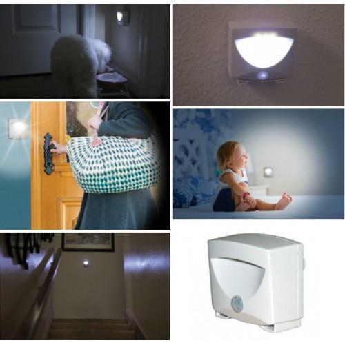 Варианты применения светильников с датчиком движения