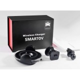 Smartov Car Chargher Беспроводное зарядное устройство Подставка под телефон Держатель телефона