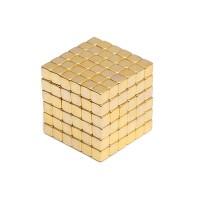 Нео куб Neo Cube золотой квадрат
