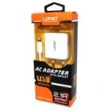 Мобильная зарядка Ldnio 220v 2 USB + шнур iPhone