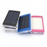 Power Bank с солнечной батареей Camping lamp solar 36000 mAh