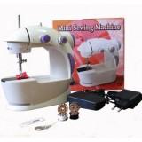 Mini sewing machine Мини швейная машина 4 в 1 с блоком питания