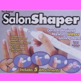 Salon Shaper (Салон Шапер) Маникюрный набор машинка, фрезер для маникюра и педикюра