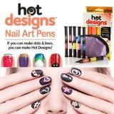 Hot Designs Nail Art Pens 2 в 1 Набор для дизайна росписи ногтей