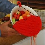Better Strainer Дуршлаг - накладка - сито для слива воды промывания продуктов