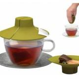 PRIMULA Tea Bag Buddy Силиконовая крышка для заваривания и отжима чайных пакетиков