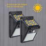 Solar motion sensor Light Настенный уличный светильник с датчиком движения 1С