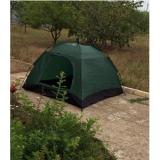 Кемпинговая палатка 4 х местная colorMIX