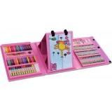 Детский набор для рисования 176 предметов Мольберт colorMIX