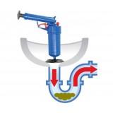 Toilet dredge Gun Blue очиститель канализаци высокого давления (25)
