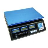 Электронные торговые весы Opera Plus до 40 кг (4)