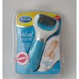 Электрическая роликовая пилка Шоль Велвет с USB Scholl Velvet smooth (60)