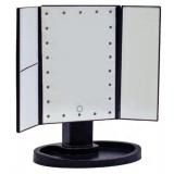 Тройное зеркало ЧЕРНОЕ со станями Led miror (24)