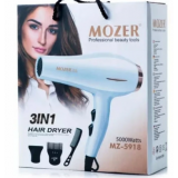 Профессиональный фен MOZER MZ-5918 3 в 1 5000W (48)