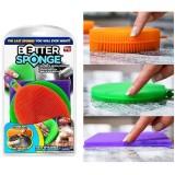 Набор универсальных силиконовых щеток-губок Better Sponge №1154 (120)