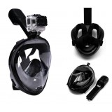 Маска L/XL ЧЕРНАЯ для подводного плавания, маска для снорклинга Easybreath Tribord (10)