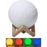 Настольный светильник Луна Magic 3D Moon Lightt с пультом ЦВЕТНАЯ (27)
