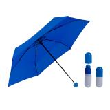 Компактный зонт в чехле-капсуле MIX