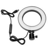 20см Кольцевая LED лампа (карт.коробка), (без креп.тел.) (управл.на проводе) USB (60)