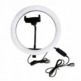 33см Кольцевая LED лампа LC-330 (1 крепл.тел.) USB (20)