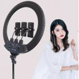 55см Кольцевая LED лампа SLP-G63 (3 крепл.тел.) (пульт) 220V (5)