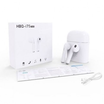 HBQ i7S TWS Беспроводные наушники гарнитура Bluetooth с кейсом Power Bank
