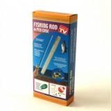 Fishing Rod In Pen Case Складная походная мини-удочка