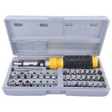 41 Piece Bit and Socket Set Набор инструментов AIWA (41 предмет) в кейсе