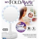 Foldaway Mirror Зеркальце с подсветкой для макияжа