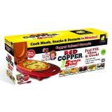 Red Copper 5 Minute Chef Электрическая сковорода для дома Ред Коппер