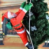 Дед Мороз на лестнице 50 см