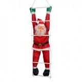 Дед Мороз на лестнице 120 см