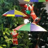Дед Мороз на парашюте 35 см