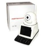 Камера видеонаблюдения IP с экраном