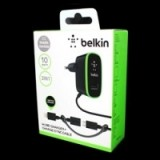 Зарядка Belkin 220v 2 USB + шнур Samsung/iPhone