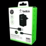Зарядка Belkin 220v квадрат 2 USB + шнур iPhone