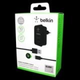 Зарядка Belkin 220v квадрат 2 USB + шнур iPhone/Samsung