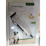 Surker HC-585 Pet Hair Clipper Машинка для стрижки собак и котов с 6 насадками