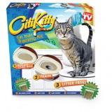 CitiKitty Набор для приучения кошки к унитазу (кошачий туалет) Сити Кити