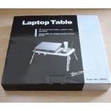 E-Table Подставка столик для ноутбука с охлаждением 2 USB кулерами