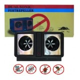 Dual Sonic Pest Repeller ультразвуковой электронный отпугиватель грызунов и насекомых