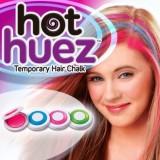 Hot Huez (Хот Хьюз) Мгновенная временная краска цветная пудра мелки для волос