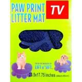 Paw Print Litter Mat Коврик подстилка для домашних животных