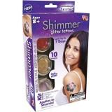 Shimmer Glitter Tattoos Набор для временного глиттер-тату блестящие татуировки