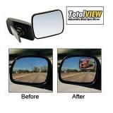 Total View Дополнительное панорамное зеркало заднего вида для автомобиля