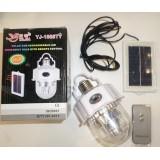 YJ-1886TY Аварийная светодиодная лампа-фонарь с солнечной батареей и пультом управления