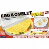 Egg & Omelet Wave Омлетница для микроволновой печи + пашотница