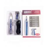 Keshida 2 в 1 модель NZ-208 Триммер бритва для стрижки волос на лице, в носу и ушах
